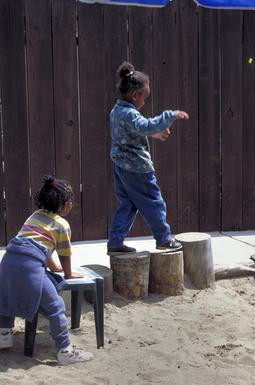 African American, preschool, daycare, play, yard, outside, exercise, Oakland, California, 0_ NEW IMAGES _0