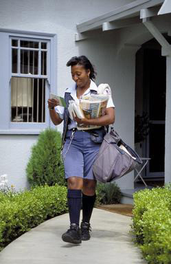 mail, letter carrier, government service, Oakland, suburbs, female, African American, 0_ NEW IMAGES _0