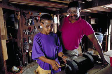 workshop, tools, African American, father, family, Oakland, California, sharpening, 0_ NEW IMAGES _0