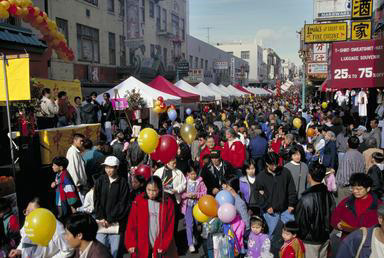 Chinese New Year, Chinatown, San Francisco, celebration, crowd, California, 0_ NEW IMAGES _0