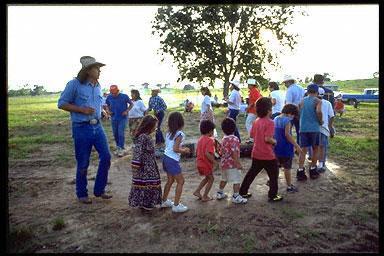 Cherokee Stomp Dance