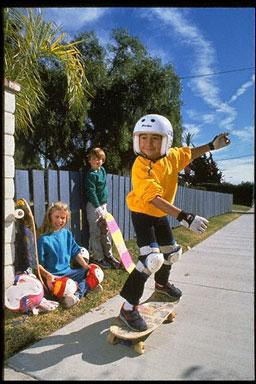 USA, skateboard, safety gear, safety, trick, children, exercise, sport, fun