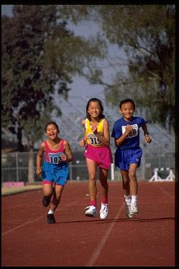 USA, children, exercise, run, running, running track, training, track , kids, athletics, sport, fun