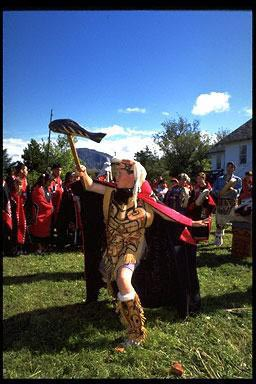 celebration, clans, costumes, dancing, memorial, Metlakatla, native Alaskan, native american, native american, , regalia, totem pole, Totem Pole, Tsimshian, northwest coast indian tribe, northwest coast natives, potlatch, regalia, USA, potlatch gifts