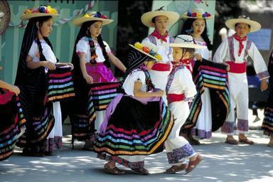 Hispanic, Mexican American, dance troupe, dance, costume, traditional, California
