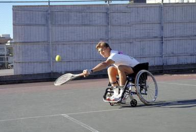tennis, Wheelchair, Wheelchair tennis, sport, exercise, disabled, disabilities, athlete