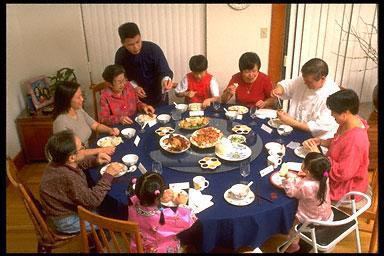 Asian American, California, celebration, Asian American children, Chinese New Year, ethnic holiday, family, year of the Ox, parade, USA, Asian American, Chinese New Year, year of the Ox